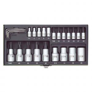 Set Torx nasadnih ključeva PROXXON 24-djelni