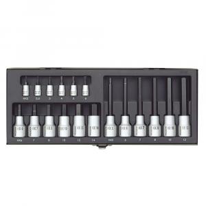 "Set nasadnih imbus nastavaka PROXXON 1/4""+1/2"" 2-14 mm 18-djelni"