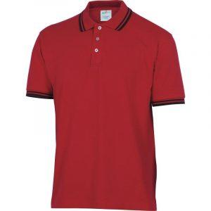 Majica Polo AGRA (crna, crvena)
