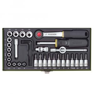 """Set nasadnih ključeva PROXXON 1/4"""" 36-dijelni"""
