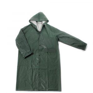 Kabanica PVC-polyester zelena