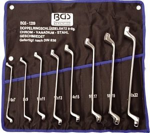 Set okastih ključeva BGS 6-22mm /8dj