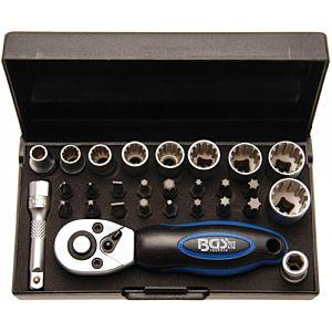 """BGS nasadni ključ sa bitovima 5-13mm 1/4"""" 28dj"""