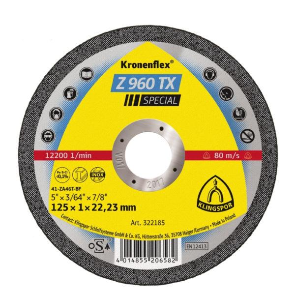 Rezna ploča Klingspor Z960 TX