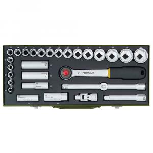 """Set nasadnih ključeva PROXXON 1/2"""" 8-34 mm 29-djelni"""