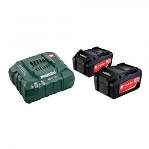 Akumulatorski komplet Metabo Basic 18V Li 2x4,0Ah