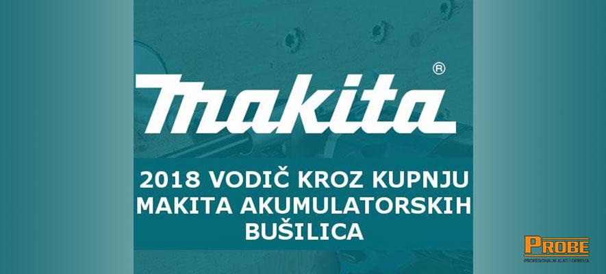 Makita vodič 2018