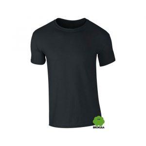 Majica lagana ljetna BROKULA Organic Line - Crna