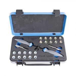 Set uložaka i noževa za popravak navoja pedala Unior