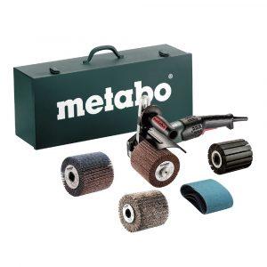 SET Rotacijska brusilica s četkom Metabo SE17-200 RT