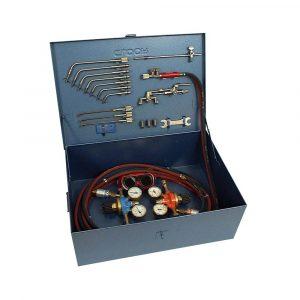 Kompletna oprema za zavarivanje i rezanje u montažnom kovčegu Gloor