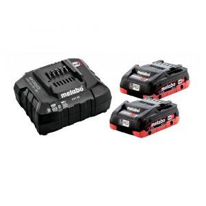 Akumulatorski komplet Basic SET Metabo 2x4,0Ah LiHD SE