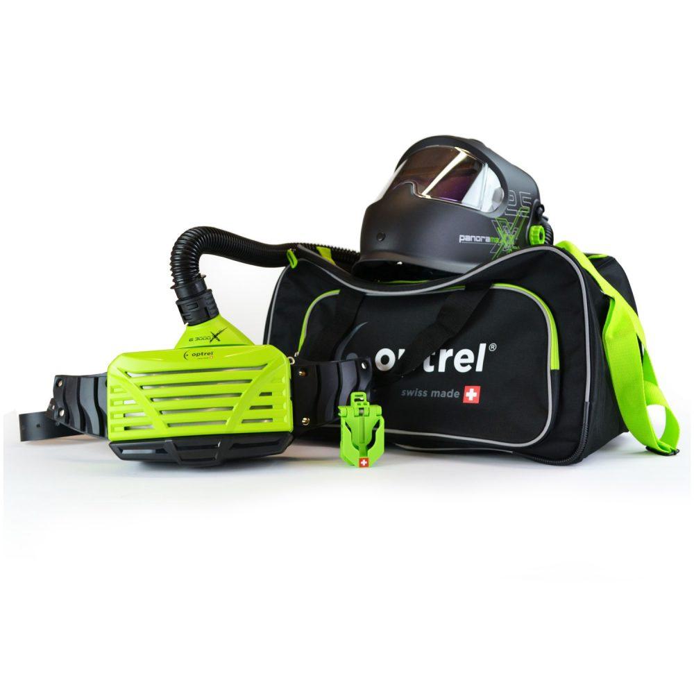 Optrel filter e3000x green + Panormaxx PAPR