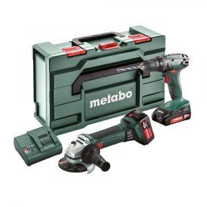 Akumulatorski Combo set Metabo 2.4.3 BS18 + W18LTX