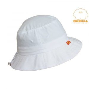 Šešir za odrasle BROKULA SALPA UV - bijeli