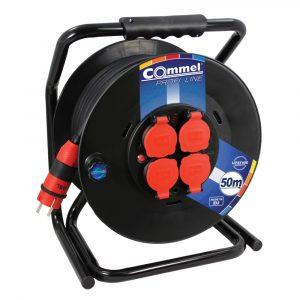 COMMEL kabelska motalica na PVC bubnju 300 mm 3x2,5 50m 0932 GG/J PROFI