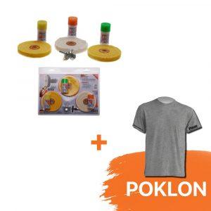 BGS Set za poliranje tvrdog željeza 3991 poklon majica